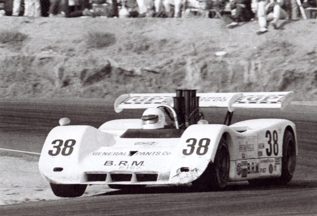 1971 Howden Ganley BRM P167 01 Chev V8 Can Am 7600cc 3rd Place LA Times GP, Riverside,