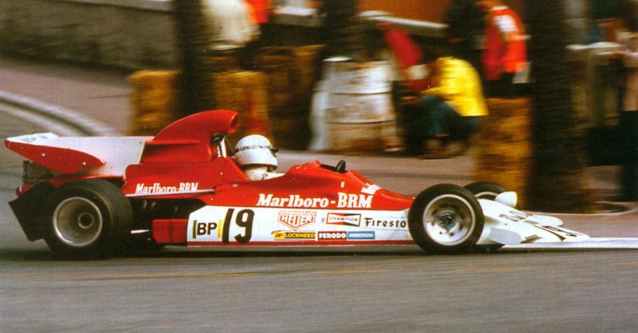 1972 Howden Ganley Marlboro BRM P180 02 V12 F1 Monaco GP Practice Day – 13 May 72