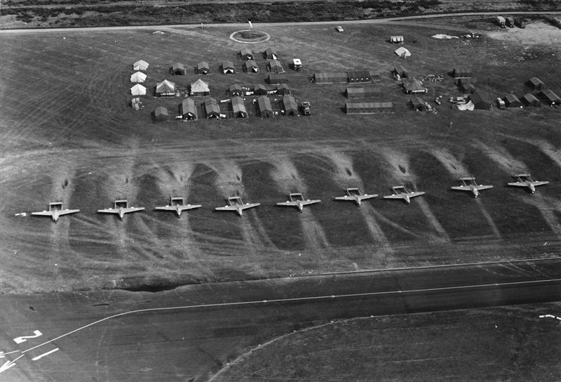 75 Sqn Tented Camp At Gisborne Airfield 30 Sep To 13 0ct 69