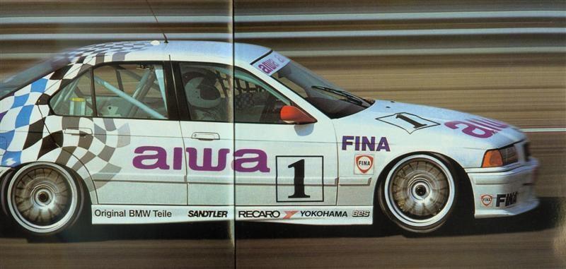 Aiwa Sponsored Team Schnitzer BMW 318i Super Tourer