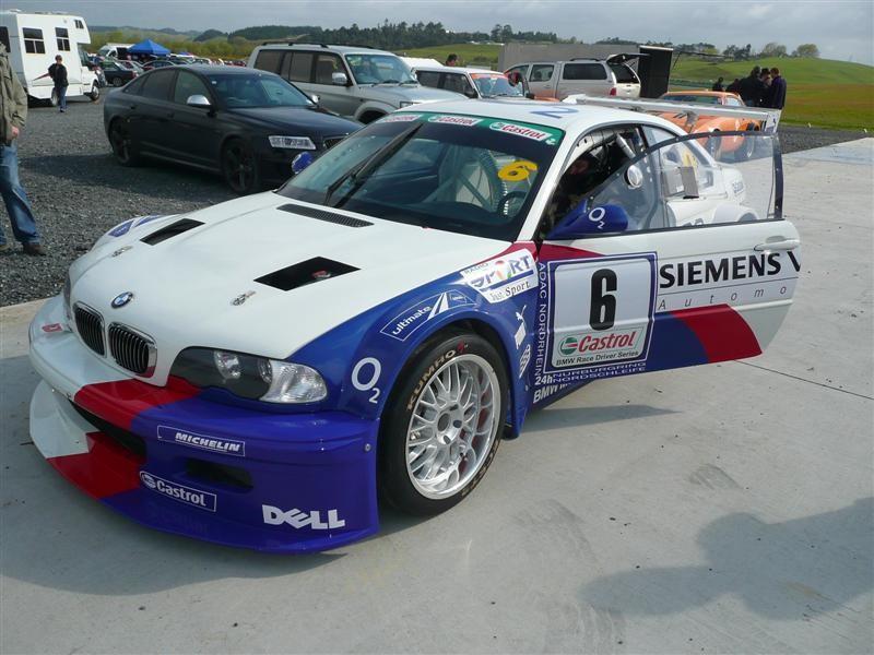 Barry Kirk Burnannd – 2003 BMW M3 GTR 5000cc – Hampton Downs 26 Sept 2010