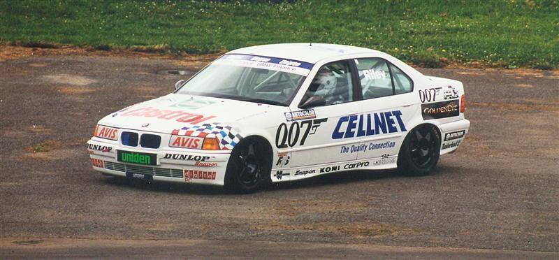 Brett Riley BMW E36 320i 1991cc – Pukekohe 9 December 1995 – Jim Barclay Photo