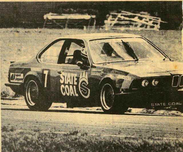 Charlie O'Brien Glenn McIntyre BMW 635CSi –Pukekohe 14 Dec 86