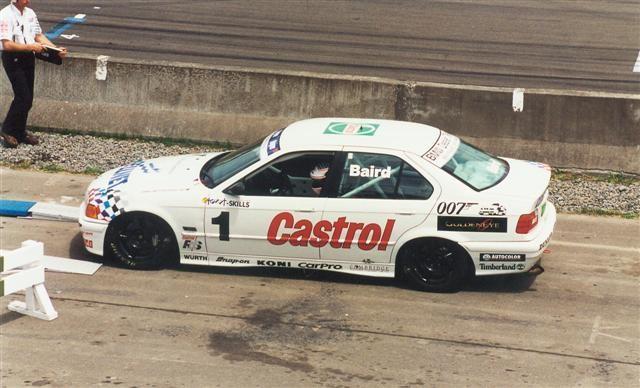 Craig Baird BMW E36 320i 1991cc – Manfeild 7 Jan 96 – Jim Barclay Photo