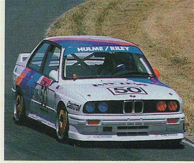 Denny Hulme Paul Radisich – BMW M3 – Pukekohe 10 Dec 89