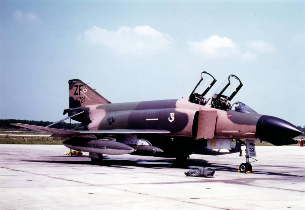 31st May 1981 – F4D Phantom II 65-721 on 'Cross Country' at England AFB, Louisiana