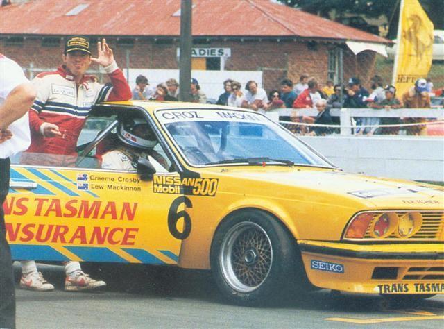 Graeme Crosby – BMW 635CSi Chassis # RA001 – Pukekohe 2 Feb 86