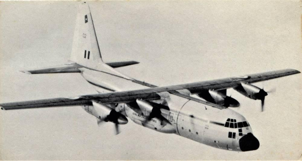 1967 RNZAF C130H Hercules NZ7002 – Photo RNZAF Public Relations