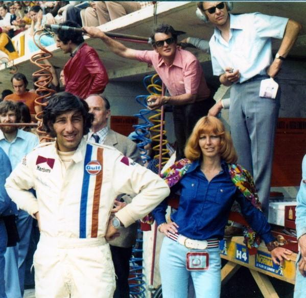 Howden Ganley And Judy Kondratieff – Le Mans 1973