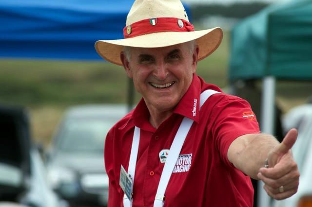 Jim Barclay NZ Festival Of Motor Racing Celebrating Chris Amon Jan 2011 Photo By Harley Oliver