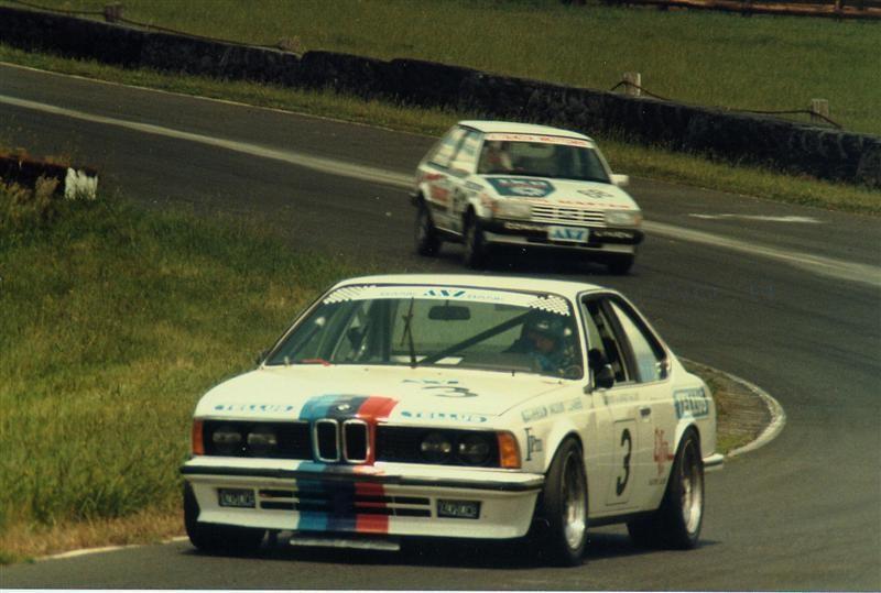 Kent Baigent BMW 635CSi – 1st Place ANZ Touring Car Series Pukekohe 1984 5