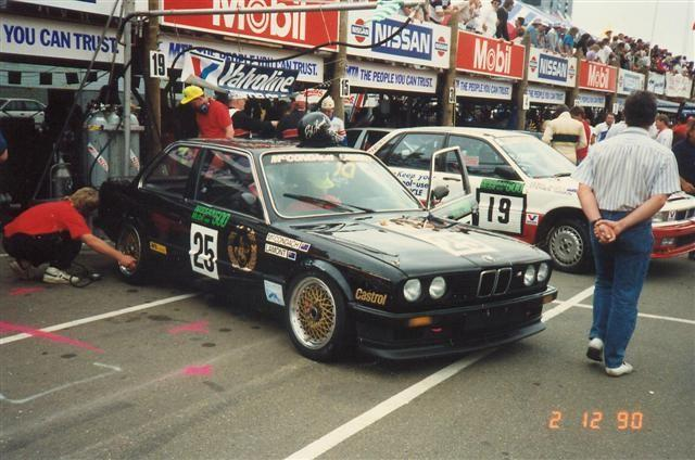 Lamont McCondach BMW 325i – 13th Place Nissan Mobil 500 Wellington