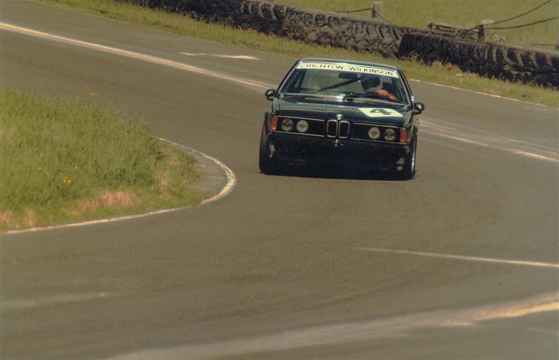Neville Crichton Wayne Wilkinson 1984 BMW 635CSI – 2nd Place – B H 6 Hour Race Pukekohe November 1984