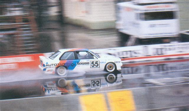 Paul Radisich Ludwig Finauer BMW M3 – Wellington 24 Oct 88