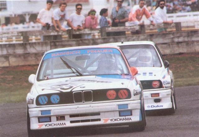 Paul Radisich In Bill Bryce's BMW M3 Leading Mobil Dealer Team BMW M3 –