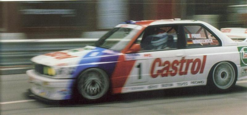 Pirro Winkelhock – Castrol BMW M3 – 1st Place Nissan Mobil 500 – Wellington 1 Dec 91