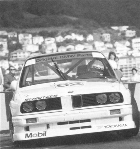 Ravaglia Pirro BMW M3 – 1st Place – Nissan Mobil 500 Wellington 24 Oct 88