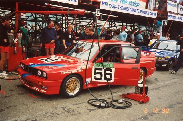 Sax Borgudd McAlpine BMW M3 Group N NZ