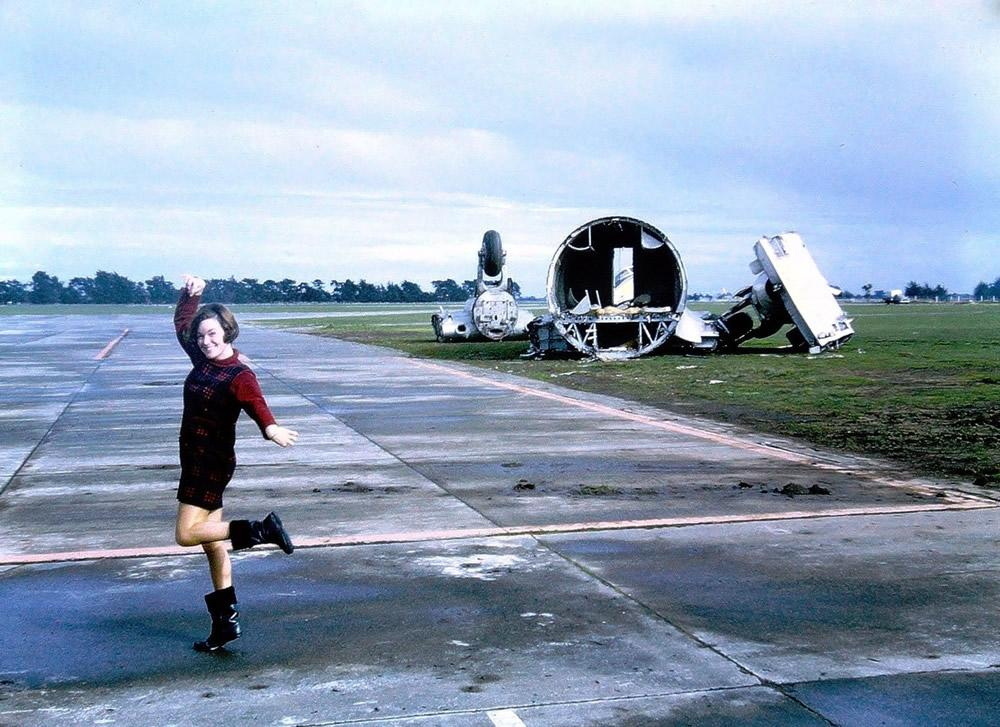 The 1969 Battle of Hastings, Ohakea. Joanie Barclay – Job Done. Hastings cut up. Jim Barclay photo Ohakea July 1969