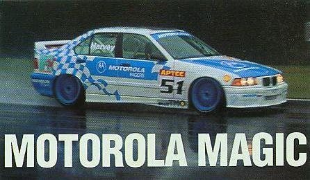 Tim Harvey – Motorola Pagers Racing Team BMW 318i – Fuji, Japan