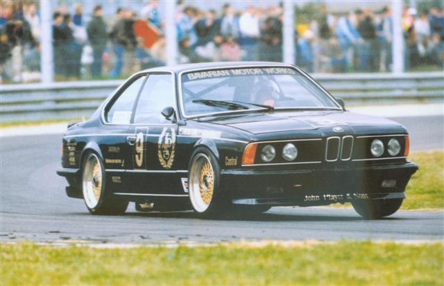 Trevor Crowe Tony Longhurst Ex JPS BMW 635CSi