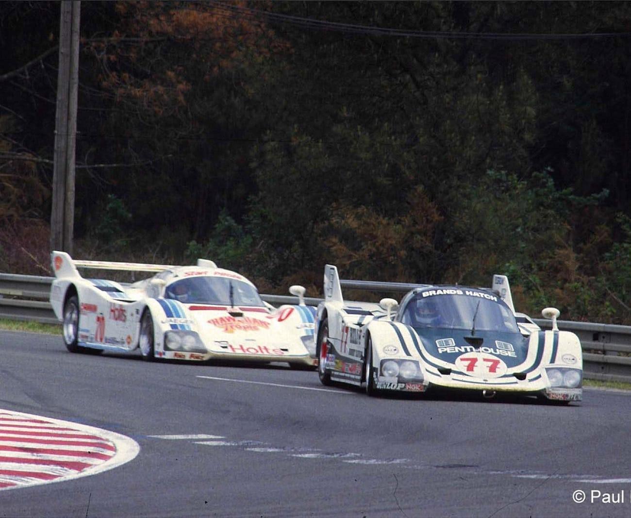 1985 #77 Tiga CG84, #70 Tiga CG85 – Le Mans 15 16 Jun 85