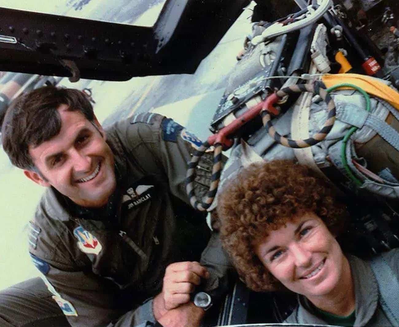 Jim & Joanie Barclay in F4D Phantom 66-467