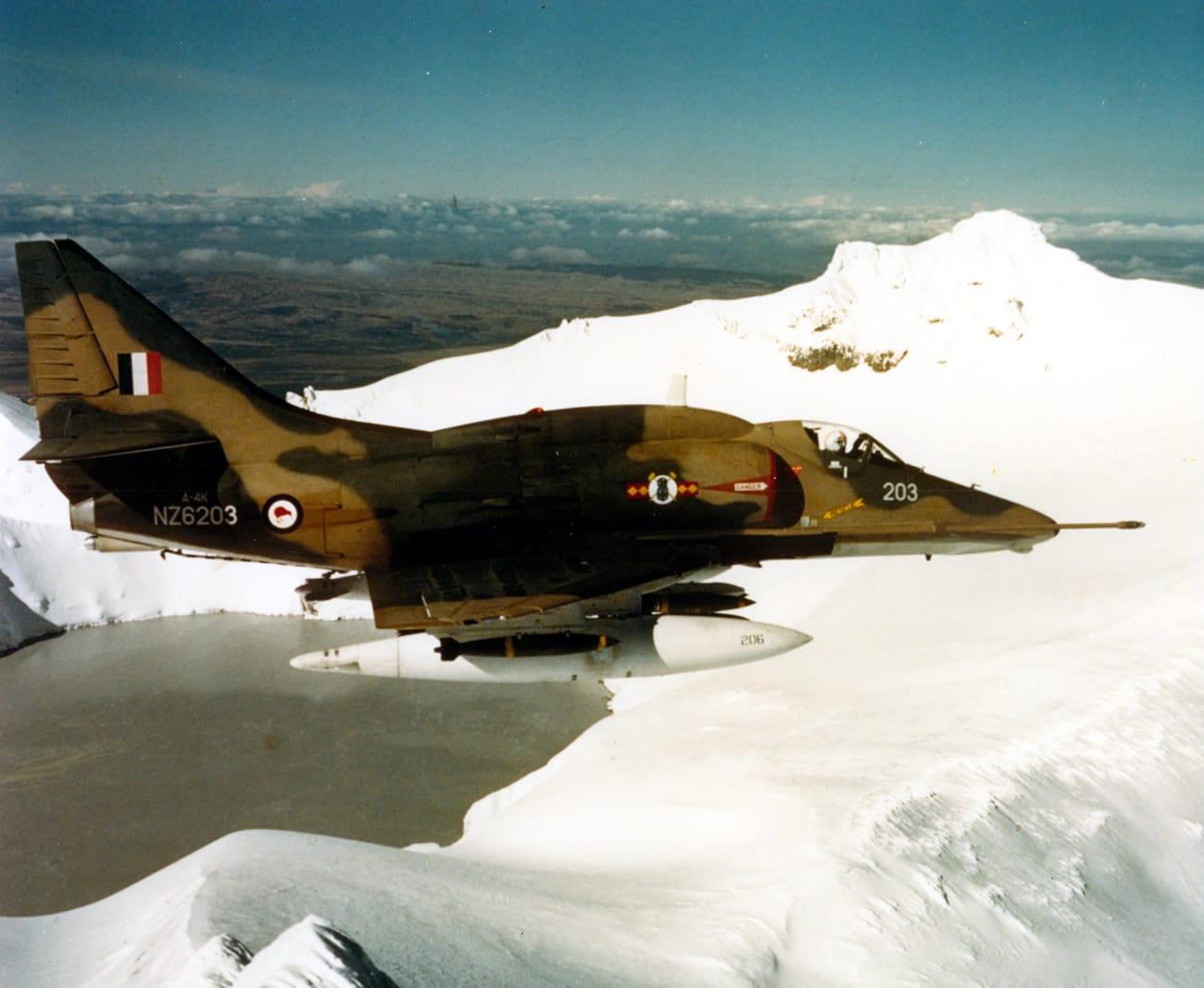 RNZAF A4 Skyhawk