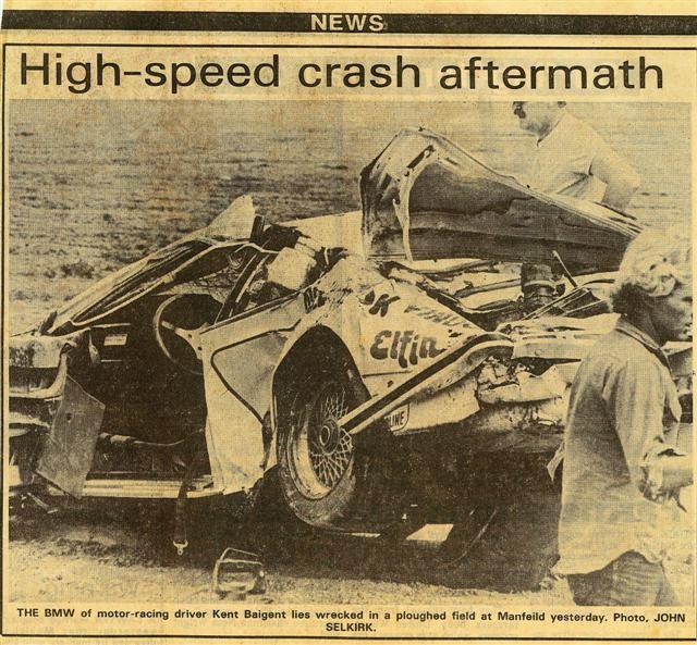 High Speed Bmw Crash