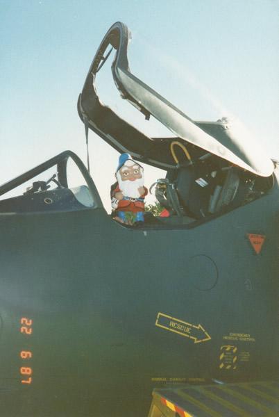 Merv Flies Skyhawk