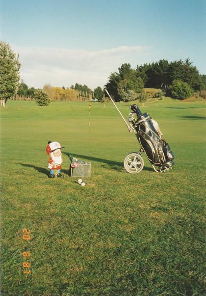Merv Playing Golf